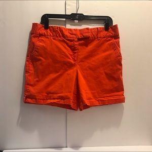 Orange short by Loft